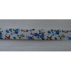 Kék virágos szalag öntapadós