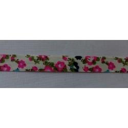 Rózsaszín virágos szalag...