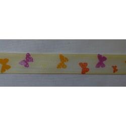 Pillangós szalag sárga