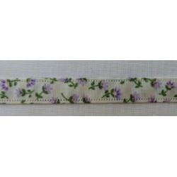 Virágos szalag lila