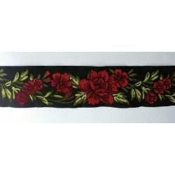 Virágos szalag 5 cm