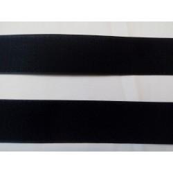 Tépőzár fekete 5 cm