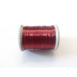 Gyöngyfűző drót piros