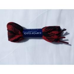 Cipőfűző piros-fekete
