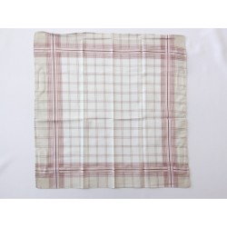 Férfi zsebkendő drapp-bordó