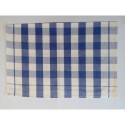 Kék-fehér kockás konyharuha