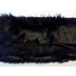 Manószőr fekete 30 cm széles