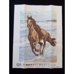 Keresztszemes kép 45 ló