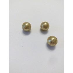 Arany lurexes hungarocell gömb