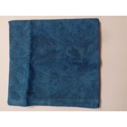 Kék márványos abrosz (140x140)