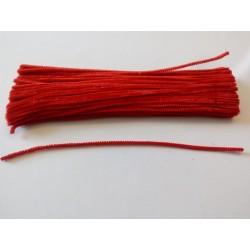 Zsenília drót piros