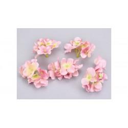 Hortenzia fej rózsaszín