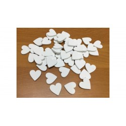 Fa szív fehér