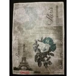 Rizspapír rózsás Párizs