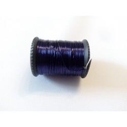 Gyöngyfűző drót sötét lila