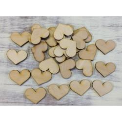 Fa szív 3cm