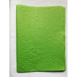 Merített papír zöld