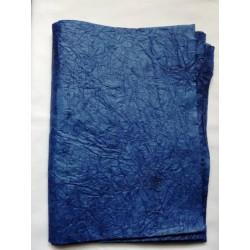 Merített papír kék