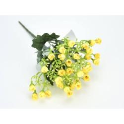 Apró rózsa csokor sárga