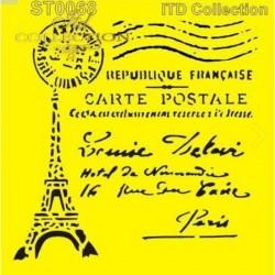 Stencil Párizs